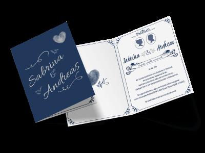 """Hochzeitseinladung """"Ornament"""""""
