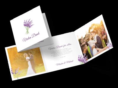 """Dankeskarte """"Lavendel"""""""
