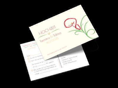 """Antwortkarte """"Blütenpracht"""""""