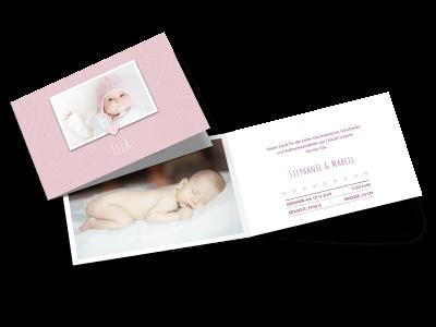 """Geburtskarte """"Schaufenster"""""""
