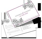 Antwortkarten für Hochzeit drucken