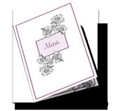 Menükarten für Hochzeit drucken