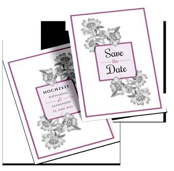 Save-the-Date-Karten drucken