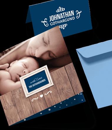 Geburts- und Taufkarten